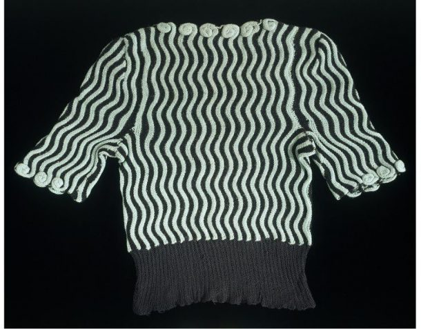 Hand knitted wool jumper, Unknown Maker, 1942 © Victoria and Albert Museum, London