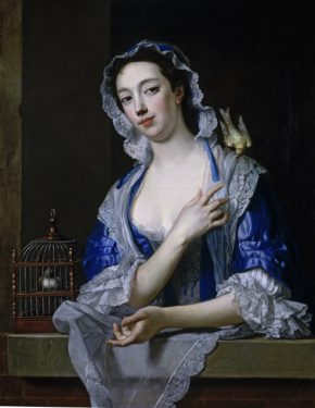 Margaret (Peg) Woffington, probably by Jean-Baptiste van Loo, about 1738. 601-1882. (c) Victoria & Albert Museum, London