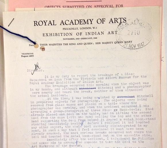Sir Michael Sadler Letter