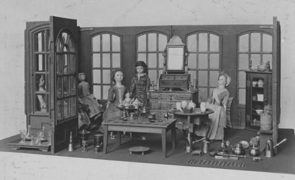 The Room Setting as it appeared in 1917. (C) Victoria and Albert Museum, London