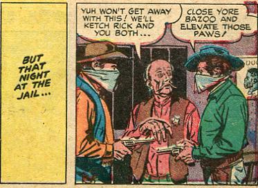 'Close yore Bazoo...'. Western Comics. no.6, Nov-Dec. 1948. National Comics Publications