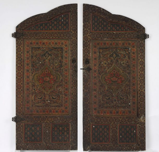 Cupboard doors from the V&A's Damascus Room (504:1&2-1883) © Victoria and Albert Museum, London