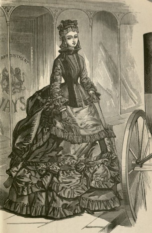 Young Lady of Fashion, 1871