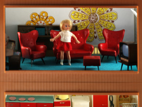 'Jenny' in a sitting room of Jennys Home, B.360-2013 (c)V&A Museum, London