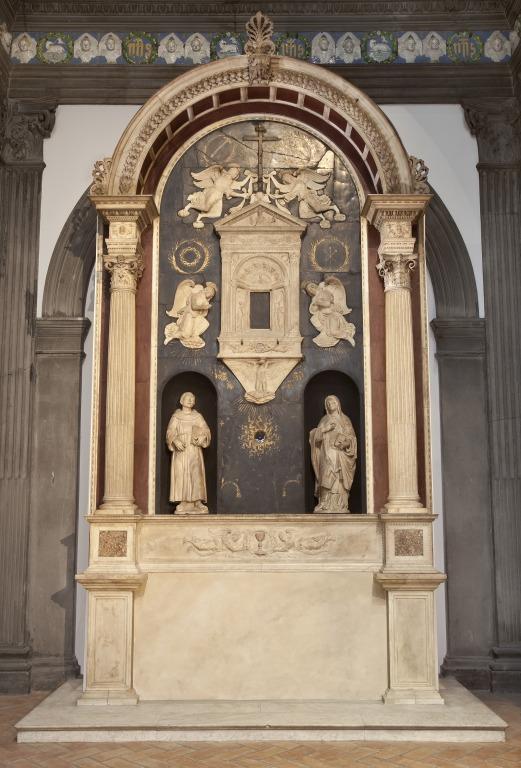 Chancel chapel from Church of Santa Chiara