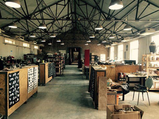 Ceramic Section at the Institute of City Design