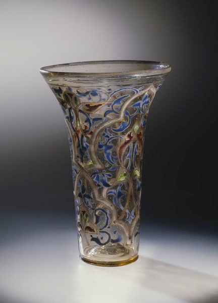 'The Luck of Edenhall', beaker and case, probably Great Britain, possibly Egypt, possibly Syria, c.1350. Museum no. C.1 to B-1959 © Victoria and Albert Museum, London