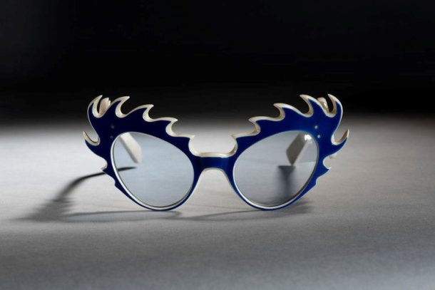 'Jester' Sunglasses, Oliver Goldsmith Eyewear, Britain, 1954. Museum no. T.243C-1990 © Victoria and Albert Museum, London