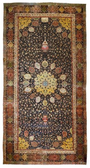 The Ardabil Carpet, Iran, 1539–40. Museum no. 272-1893 © Victoria and Albert Museum, London