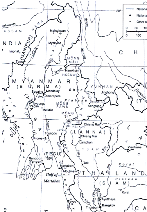 Illustration 2. Map showing geographical area discussed by the paper.