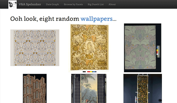 Wallpapers on the V&A Spelunker