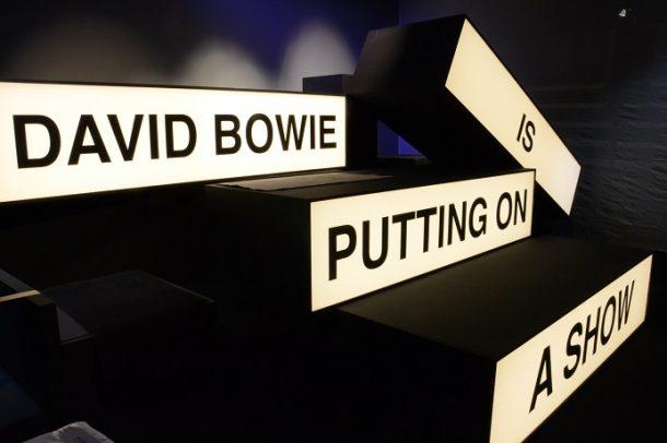 'David Bowie is Putting on a Show' in Paris. © Philharmonie de Paris / Charles d'Herouville