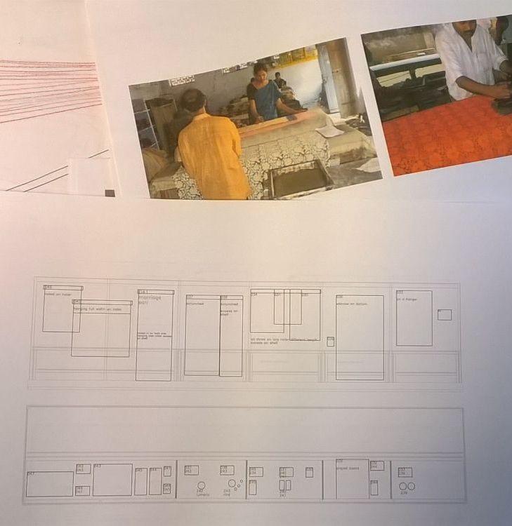 Design plans for Indian Textiles
