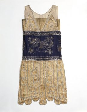 T.50-1948 Evening dress by Paquin, 1925