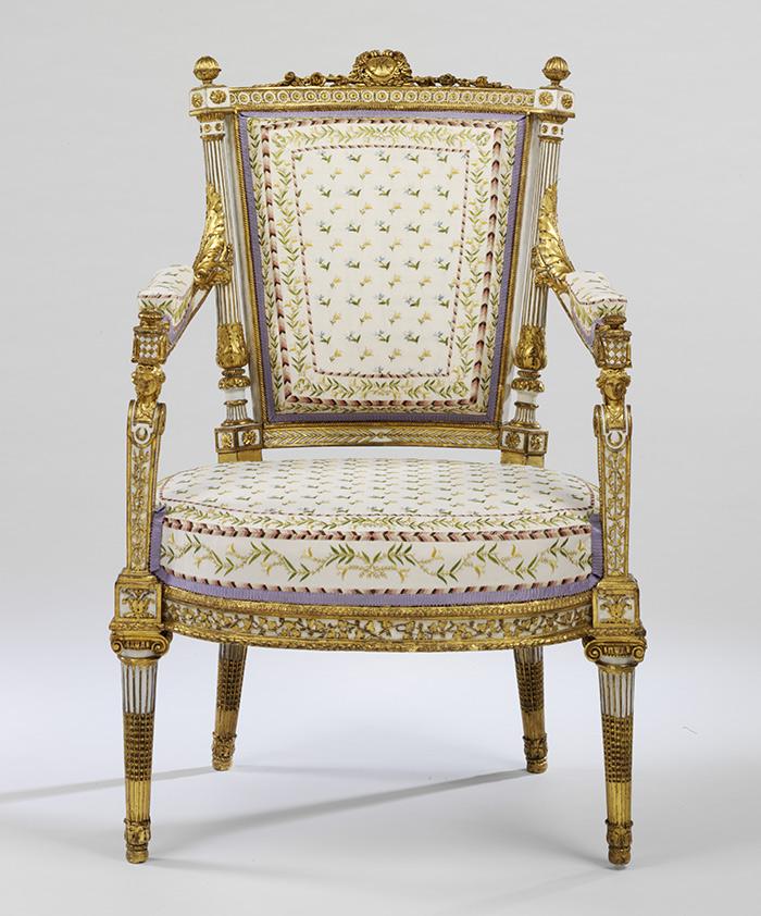 The Conservation Of Marie Antoinette S, Marie Antoinette Furniture