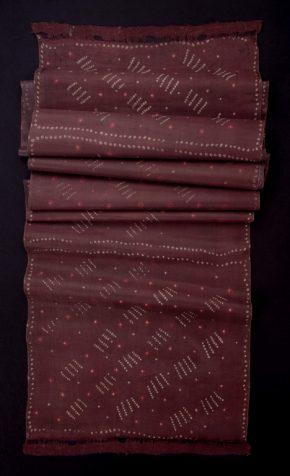 Length of 'bandanna' handkerchiefs, tie-dyed silk, Berhampur, India, ca.1880. Museum no. IS.678-1883 © Victoria and Albert Museum, London