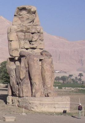 In 2014, two giant statues of Amenhotep III that were toppled by an earthquake in 1,200 B.C. were reconstructed from more than 200 fragments and re-erected at the northern gate of the king's funerary temple
