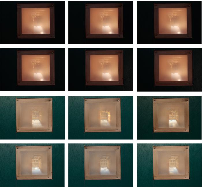 Various views through the camera obscura