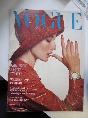 Vogue, October 1963 © Camilla de Winton