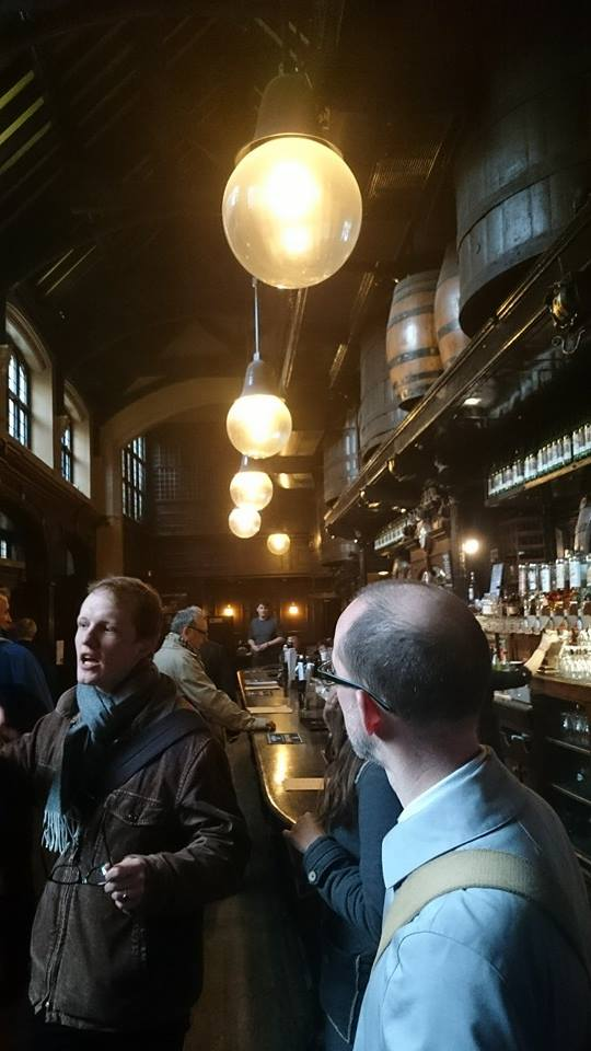 Magnus leading the discussion in The Cittie of York