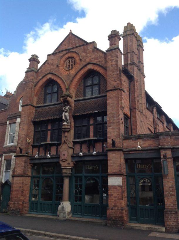Harry Hems' workshop, 84 Longbrook Street, Exeter
