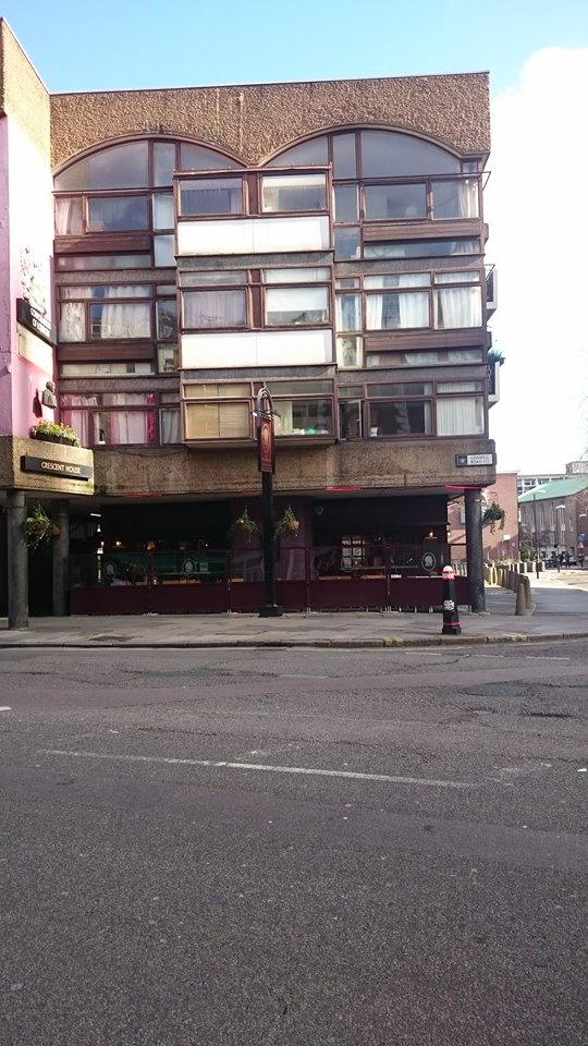 The Shakespeare: an example of a pub built in the 1960s