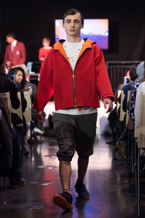 Ajith Kurian and Vikran Sangha's interactive streetwear
