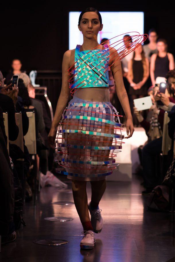 Concept To Catwalk 2015 Naomi Ormonde Chatel Omarsdottir Hannah Berhe Fahima Salha Christ's School Phoebe Quare Anne Vaandrager Yasmin Zolfaghari (model)