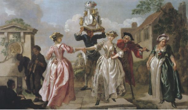The Milkmaid's Garland [or] Humours of May Day