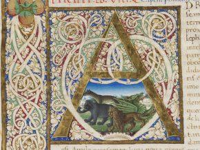 Msl/1896/1504, Pliny the Elder, Naturalis historia, Italy, [ca. 1465], © V&A Museum.