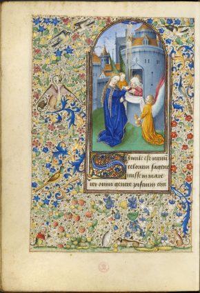 Msl/1910/2385, Book of Hours (the Margaret de Foix Hours), ca.1470, © V&A Museum.