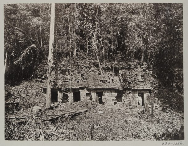 PH.630-1886 Photograph of Temple A, Menché, Guatemala, taken by A.P. Maudslay