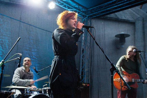 Czech band Mucha. Photography by Adéla Vosičková