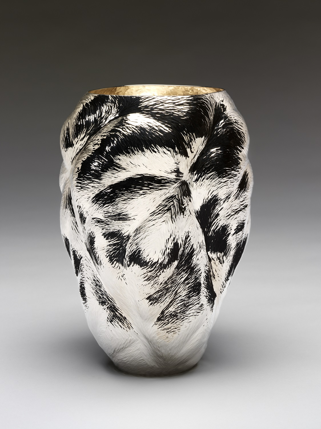 The Sparkle Vase silver, London, Ndidi Ekubia, 2012 h. 22 cm (M.21-2013)
