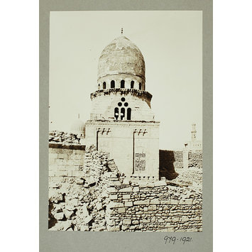 K.A.C. Creswell 1916-1921 Exterior of the Mausoleum of the Saba Banat, Cairo Gelatin silver print ?Museum no. 979-1921