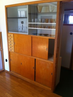 Double Sided Cupboard, Aalto House. Image © Alicia Farrow, 2015