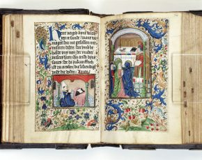 MSL/1949/1253, Book of Hours, in German, between 1475 and 1499. © V&A Museum.