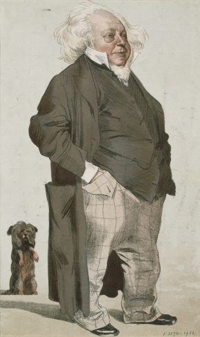 Print by Carlo Pellegrini, cartoon of Henry Cole for Vanity Fair