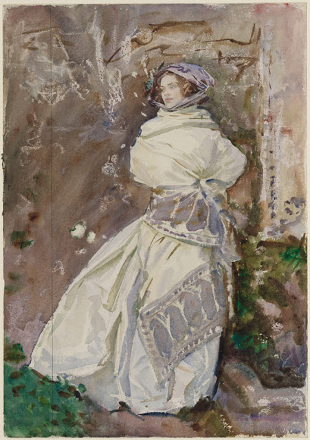 The-Cashmere-Shawl - Singer Sargent 1911
