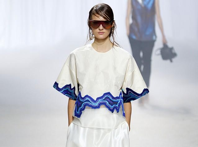 Blue And White Fashion V Amp A Blog