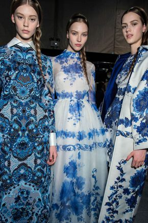 Valentino blue and white 2013