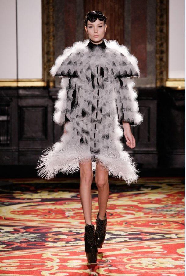 Dress, Voltage Haute Couture, Iris van Herpen, 2013, Paris, (c) M. Zoeter and Iris van Herpen