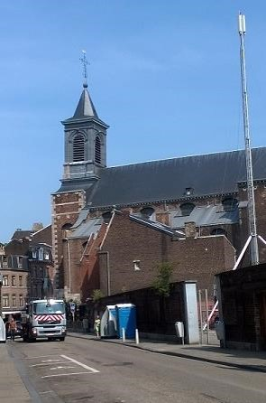 The church of St Nicholas, Liège.