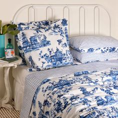 Zara willow pattern bedding