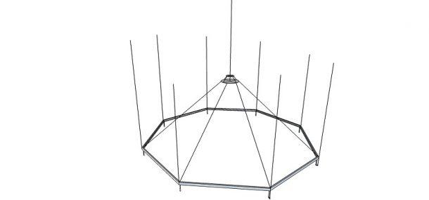 Illustration of hanging structure © Richard Ashbridge