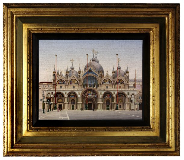 Saint Mark's Basilica, Venice, early 20th century; 18.4×25.4cm
