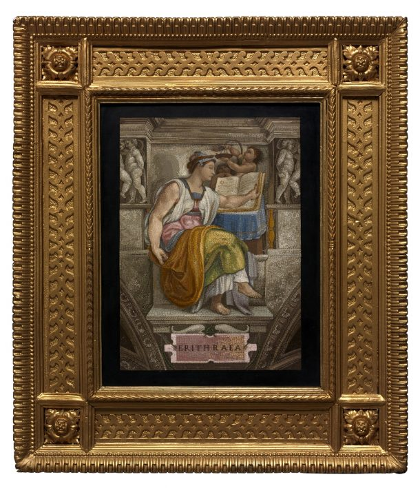 The Erythrean Sibyl, Vatican Workshop, Rome, 1775-1800; 25.9x20.3cm