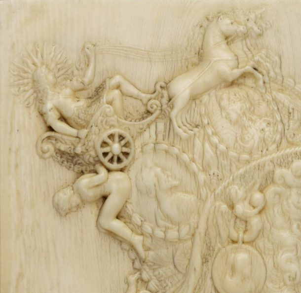 Detail of the same relief.