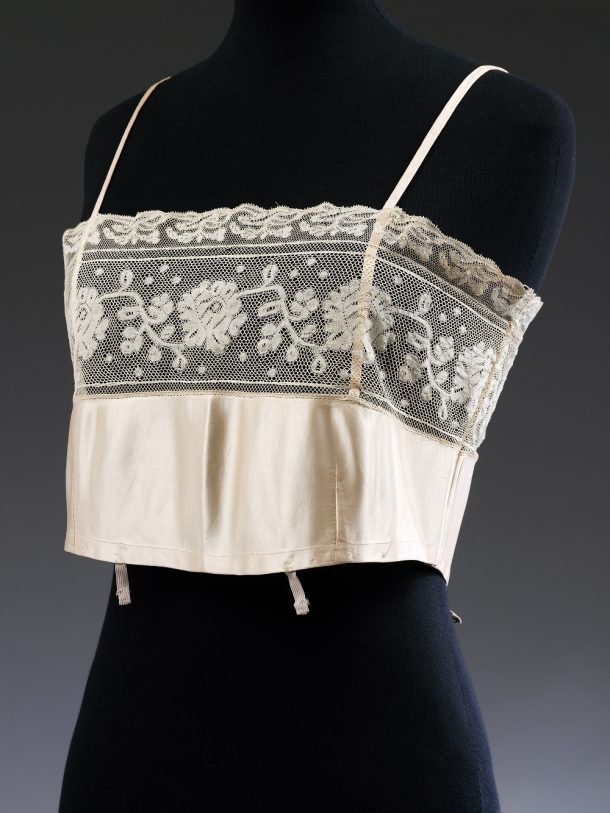 T.368-1976 Bust bodice, satin, ca. 1929 © V&A Collection