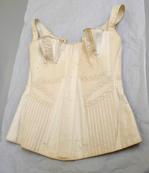 Cotton Corset from V&A Collection, 1825-35